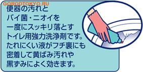 """KAO """"Disinfection Haiter"""" Дезинфицирующее чистящее средство для унитаза, 500 мл. (фото, вид 1)"""