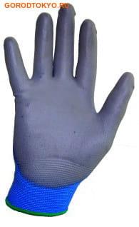 """MyungJin """"Hygienic Glove Coating"""" Перчатки хозяйственные с полиуретановым покрытием, размер L. (фото, вид 1)"""