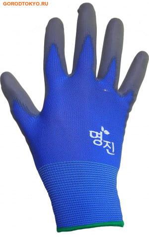 """MyungJin """"Hygienic Glove Coating"""" Перчатки хозяйственные с полиуретановым покрытием, размер S. (фото, вид 2)"""