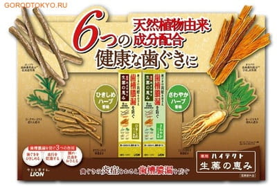"Lion Зубная паста ""Hitech"" для предотвращения кровоточивости дёсен, 90 гр. (фото, вид 1)"