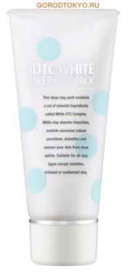 """Momotani """"DTC Deep Clay Pack"""" Очищающая маска-плёнка с белой глиной, арбутином и экстрактом плаценты, 80 г. (фото, вид 1)"""