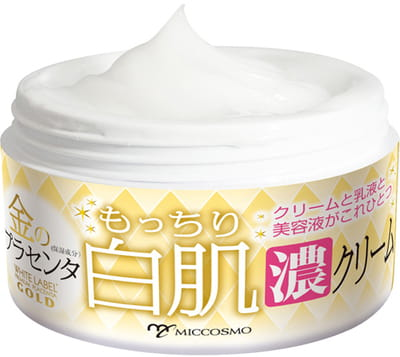 "Miccosmo ""White Label Premium Placenta Gold Cream"" Крем-эмульсия с экстрактом плаценты, 60 гр. (фото, вид 1)"
