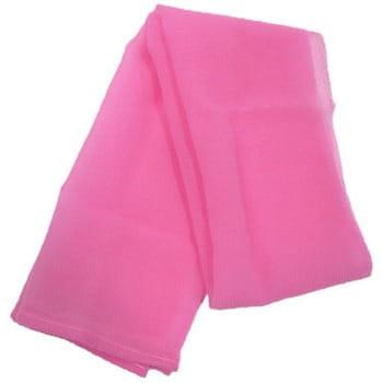 Ohe Corporation «Cure Nylon Towel» (Regular) массажная мочалка средней жесткости, цвет розовый 28 см. на 110 см. (фото, вид 1)