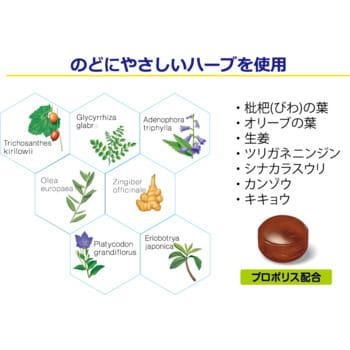 Kanro Леденцы для голосовых связок, с прополисом и экстрактами трав, 70 г. (фото, вид 1)