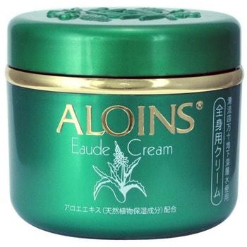 """Aloins """"Eaude Cream"""" Крем для тела с экстрактом алоэ (с лёгким ароматом трав), 185 г. (фото, вид 1)"""