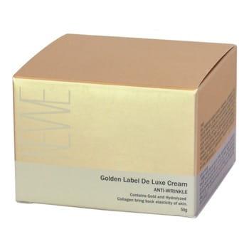 "Newe ""Golden Label De Luxe Cream Anti-Wrinkle"" Антивозрастной крем для лица с частицами золота, 50 г. (фото, вид 2)"