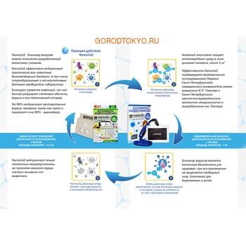 """Protex """"Nanoclo2"""" Блокатор вирусов для индивидуальной защиты, карта с чехлом, коробка, 1 шт. - защита на 2 месяца. (фото, вид 2)"""