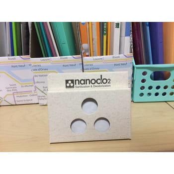 "PROTEX ""Nanoclo2"" Блокатор вирусов для помещений, контейнер с крючком, 1 шт. - защита на 3 месяца. (фото, вид 2)"