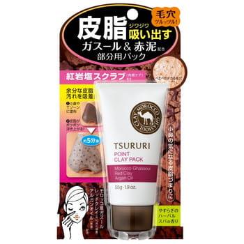 """BCL """"Tsururi"""" Подарочный набор """"Очищение пор"""": очищающий поры крем-гель с термоэффектом, 150 г + крем-маска с глиной для Т-зоны, 55 г. (фото, вид 2)"""