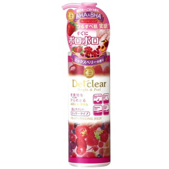 MEISHOKU «Detclear» Подарочный набор «Очищение и увлажнение»: пилинг-гель с эффектом сильного скатывания (с ароматом ягод), 180 мл + лосьон «Очищение и увлажнение», 180 мл. (фото, вид 2)