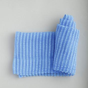 """Aisen """"Men's Skin Texture"""" Мужская мочалка для тела, жёсткая, удлиненная, 30 х 120 см, 1 шт. (фото, вид 1)"""