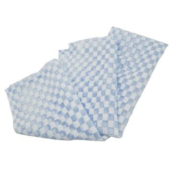 """Aisen """"Deo Chitosan"""" Мочалка для тела с хитозаном, жёсткая, голубая, 28 х 100 см, 1 шт. (фото, вид 1)"""