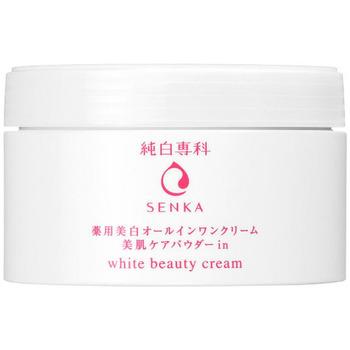 """SHISEIDO """"Pure White Senka"""" Увлажняющий крем """"Все-в-одном"""" для лица, против пигментных пятен, с маслом зародышей риса и медом, 100 гр. (фото, вид 1)"""