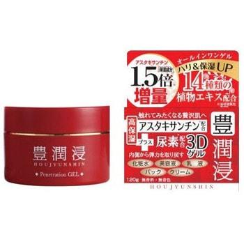 LS Cosmetic «Houjyunshin» Мгновенно восстанавливающий плотный 3D гель-крем для лица, с астаксантином, гиалуроновой кислотой и улиточным секретом, 120 г. (фото, вид 1)