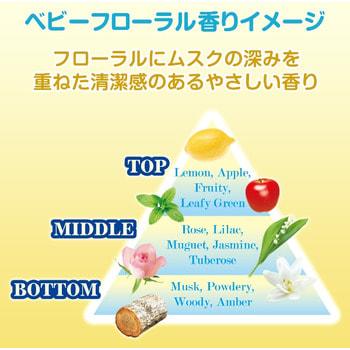 """Nissan """"Baby Floral"""" Детское дезодорирующее средство для стирки белья, с цветочно-лесным ароматом, 810 мл. (фото, вид 1)"""