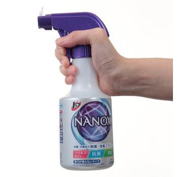 """Lion """"Top Nanox"""" Дезинфицирующий и дезодорирующий спрей для одежды и изделий из ткани, 350 мл. (фото, вид 2)"""