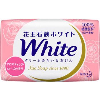 "KAO Мыло кусковое ""White"" с ароматом розы, 6 шт. по 85 гр. (фото, вид 1)"