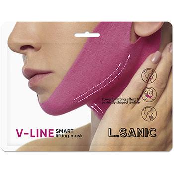 "L.Sanic ""V-Line Smart Lifting Mask"" Маска-бандаж для коррекции овала лица, 11 гр. (фото, вид 2)"