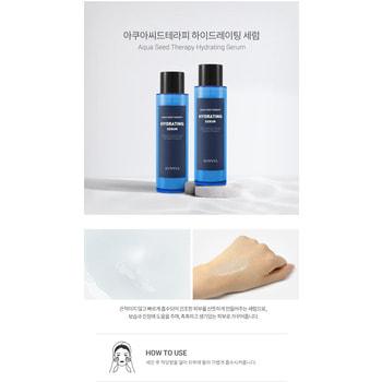 "Eunyul ""Aqua Seed Therapy Hydrating Serum"" Увлажняющий серум с экстрактом морского винограда, 150 мл. (фото, вид 2)"