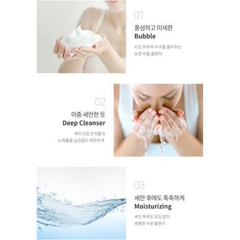 "Eunyul ""Daily Care Blueberry Foam Cleanser"" Очищающая пенка с экстрактом черники, 150 мл. (фото, вид 1)"