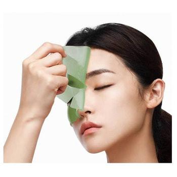 """PETITFEE """"Artichoke Soothing Hydrogel Face Mask"""" Освежающая гидрогелевая маска для лица с экстрактом артишока, 1 шт. (фото, вид 1)"""