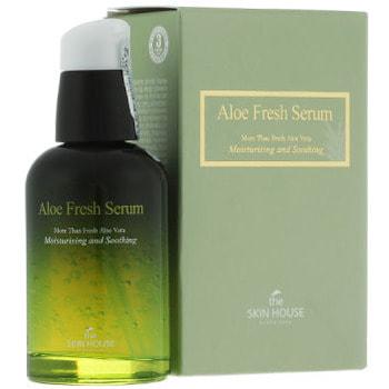 """The Skin House """"Aloe Fresh Serum"""" Увлажняющая и успокаивающая сыворотка с экстрактом алоэ, 50 мл. (фото, вид 1)"""