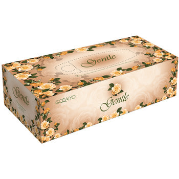 """Gotaiyo """"Gentle"""" Двухслойные салфетки с ароматом """"Европы"""", 5 пачек по 200 шт. (фото, вид 2)"""