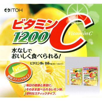 """Itoh Kanpo Pharmaceutical """"Vitamin C"""" 1200 Витамин С 1200 мг., 24 пакетика по 2 гр. (фото, вид 1)"""