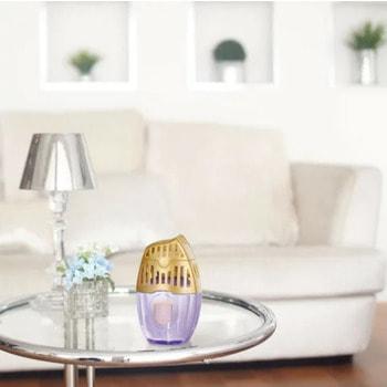 "ST ""Shoushuuriki"" Жидкий дезодорант – ароматизатор для комнат с ароматом городских цветов, 400 мл. (фото, вид 2)"