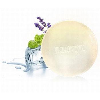 """Product Innovation """"Dr. Innoveil"""" Сохраняющее влагу косметическое мыло для жирной, комбинированной и проблемной кожи лица с липидурами и маслом лаванды, 100 гр. (фото, вид 1)"""