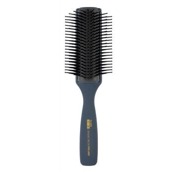 """Vess """"Skelton brush"""" Профессиональная расческа для укладки волос, с антибактериальным эффектом, цвет ручки серый. (фото, вид 1)"""