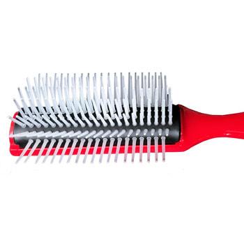 """Vess """"Blow brush C-130"""" Профессиональная щетка для укладки волос C-130, цвет ручки красный. (фото, вид 2)"""