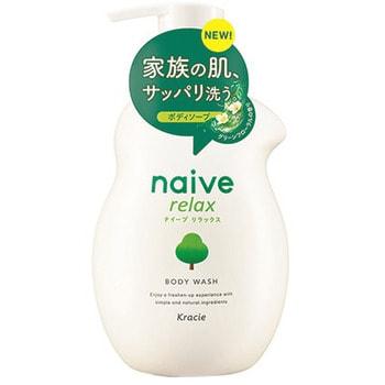 Kracie Мыло жидкое для тела с расслабляющим ароматом зелени и цветов, 530 мл. (фото, вид 1)