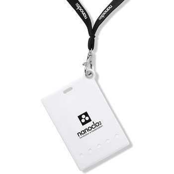 """Protex """"Nanoclo2"""" Блокатор для индивидуальной защиты """"Air Anti-Virus"""", белый чехол, шнурок, 1 шт. - защита на 2 месяца. (фото, вид 1)"""
