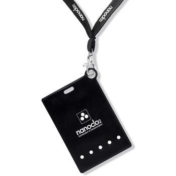 """Protex """"Nanoclo2"""" Блокатор для индивидуальной защиты """"Air Anti-Virus"""", чёрный чехол, шнурок, 1 шт. - защита на 2 месяца. (фото, вид 2)"""