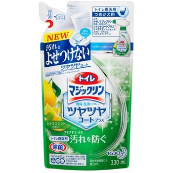 """KAO """"Magiclean Toilet"""" Моющее средство для туалета с дезодорирующим эффектом, мятно-цитрусовый аромат, 330 мл, сменная упаковка. (фото, вид 1)"""