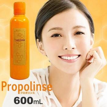 """Pieras """"Propolinse"""" Ополаскиватель для полости рта, с индикацией загрязнения, с прополисом, 600 мл. (фото, вид 2)"""