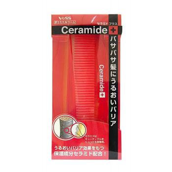 """Vess """"Ceramide Brush"""" Расческа для увлажнения и смягчения волос с церамидами (складная). (фото, вид 1)"""