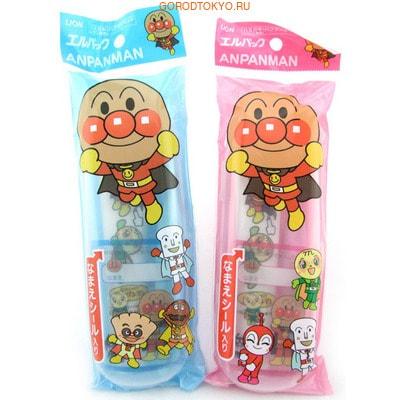 """Lion """"L pack Anpanman"""" Детский мини-набор - зубная щетка для детей от 1,5 до 5 лет и зубная паста со вкусом клубники, 50 г. (фото, вид 2)"""