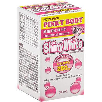 """Yuwa """"Shiny White Pinky Body"""" Биологически активная добавка для красоты ииммунитета, 250 мг., 180 таблеток. (фото, вид 1)"""