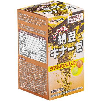 """Yuwa """"Золотой Натто"""" Биологически активная добавка к пище, 420 мг., 150 капсул. (фото, вид 1)"""