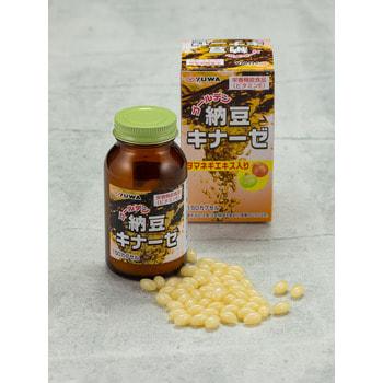 """Yuwa """"Золотой Натто"""" Биологически активная добавка к пище, 420 мг., 150 капсул. (фото, вид 2)"""