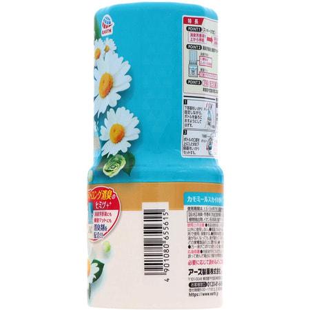 """Earth Biochemical """"Sukki-ri!"""" Жидкий дезодорант-ароматизатор для комнаты, с цветочным ароматом, """"Ромашковое небо"""", 400 мл. (фото, вид 1)"""