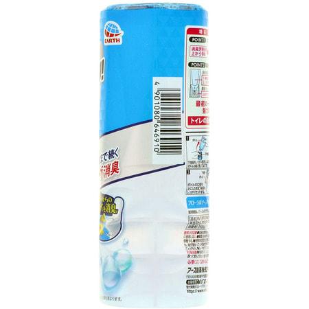 """Earth Biochemical """"Sukki-ri!"""" Жидкий дезодорант-ароматизатор для туалета, с ароматом свежести, """"Цветочная свежесть"""", 400 мл. (фото, вид 1)"""