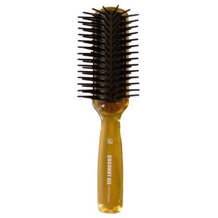 """Ikemoto """"Coconut Blow Styling Brush"""" Щетка для волос с кокосовым маслом, 1 шт. (фото, вид 2)"""