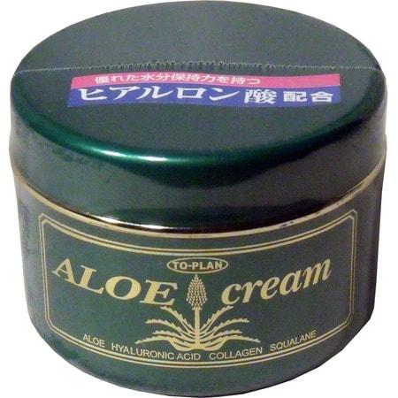 """To-Plan """"Aloe Skin Cream"""" Крем для лица с экстрактом алоэ, с гиалуроновой кислотой, коллагеном и скваланом, 170 гр. (фото, вид 1)"""