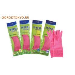 Clean Wrap Перчатки латексные, размер М, длина 40 см.! (выше локтя) + суперпрочность! (фото, вид 1)