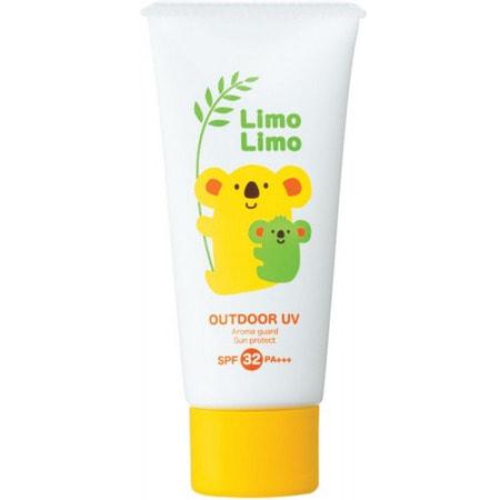 "Meishoku ""Limo Limo Outdoor UV SPF 32 PA +++"" Солнцезащитный гель для всей семьи, SPF 32 PA +++, 50 гр. (фото, вид 1)"
