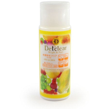 "Meishoku ""Aha&Bha Fruits Enzyme Powder Wash"" Пудра для умывания с эффектом пилинга, 75 гр. (фото, вид 1)"