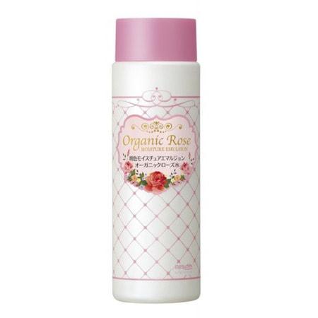 """Meishoku """"Organic Rose Moisture Emulsion"""" Увлажняющая эмульсия с экстрактом дамасской розы, 145 мл. (фото, вид 1)"""